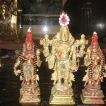 Prasannavenkatadasaru poojita Srinivasa, Bhoodevi & Sridevi
